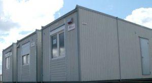 Eksempel på en container skruvogn, pavillon og mobil køkken