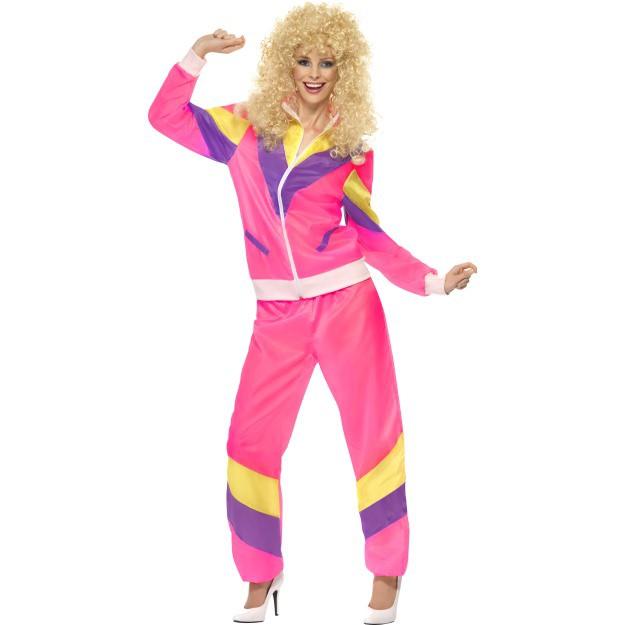 Eksempel på 80'er kostume til piger.