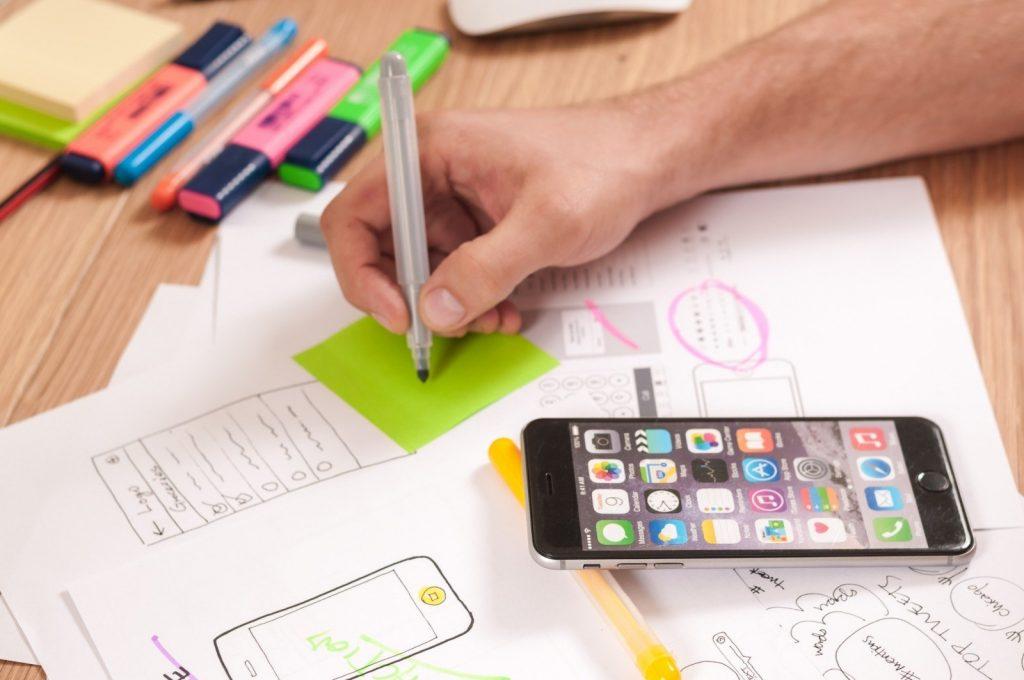 design af ny hjemmeside - et godt webdesign