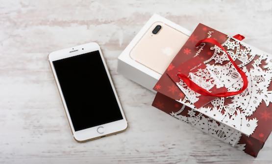 mobiltelefon med mobilabonnement som julegave
